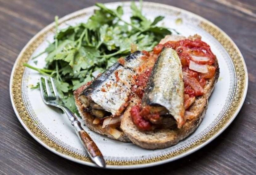 Spanish Sardines on Toast