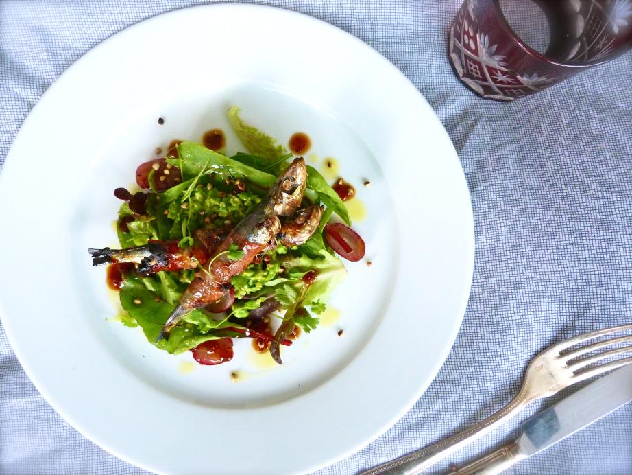 Spanish Sardines and Lemongrass Salad Recipe