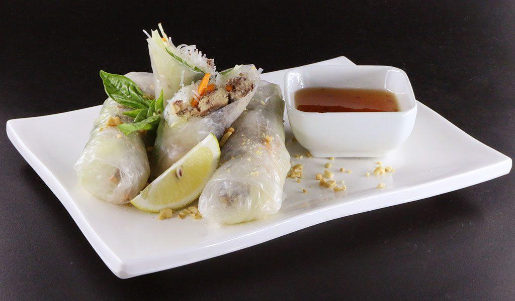 Creations Sardines Vietnamese Spring Rolls