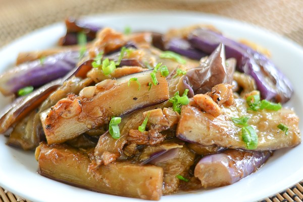 Eggplant and Mushroom Adobo
