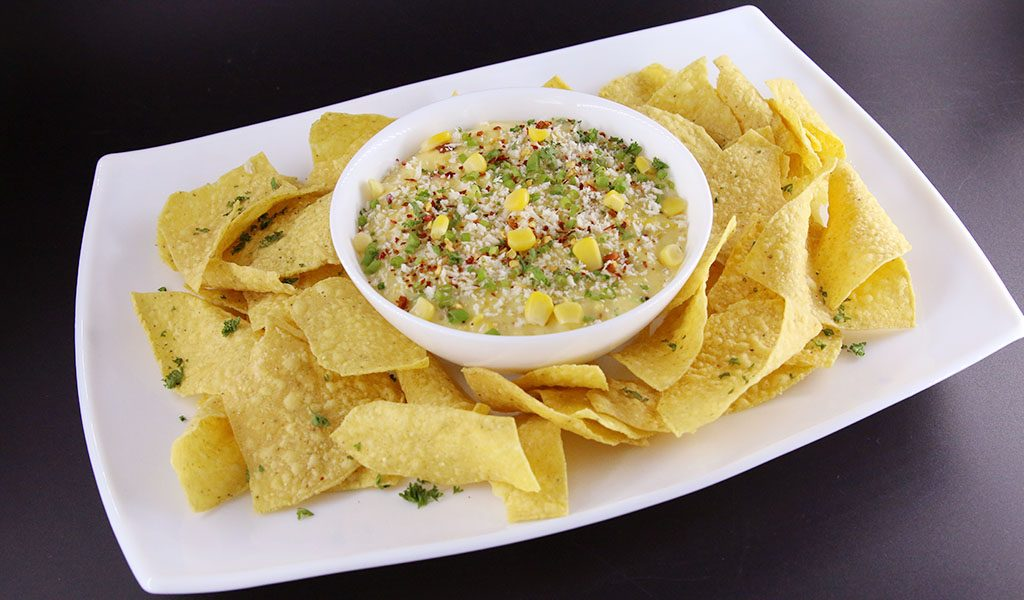 Prime Cheesy and Corn Brule Dip