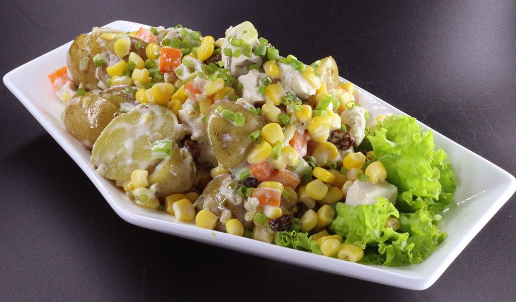 Prime Whole Kernel Corn Potato Salad