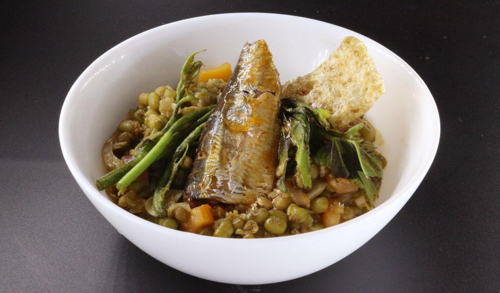 Sardines Mongo Guisado