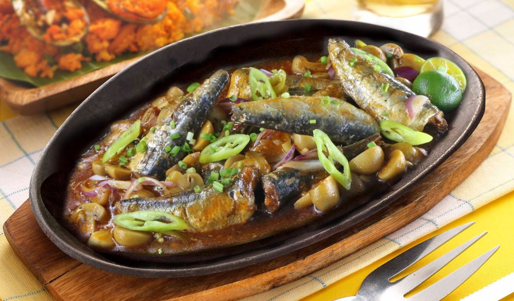 Sizzling Sardines with Mushroom(1024x600)