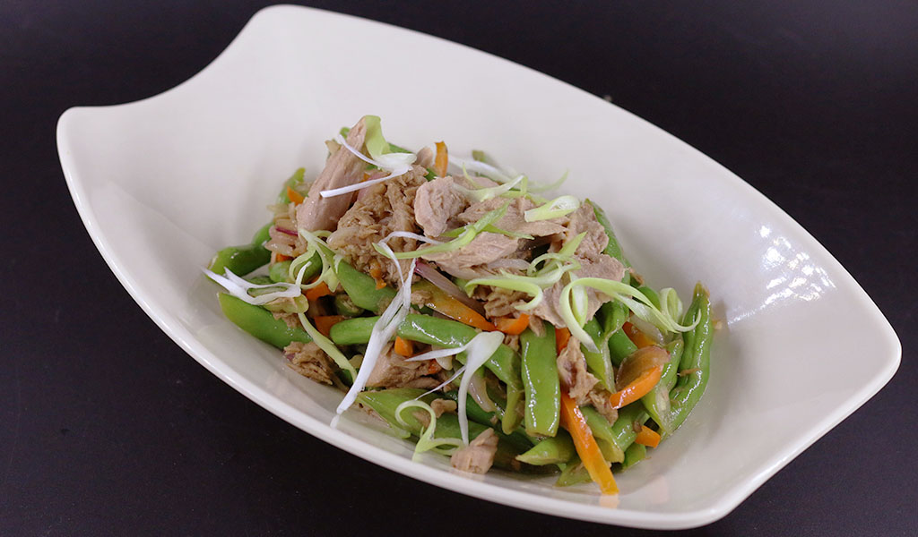 Tuna Green Beans Stir Fry