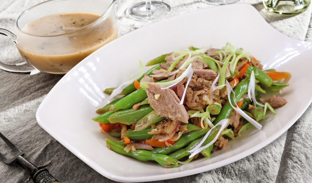 Tuna Green Beans Stir Fry(1024x600)