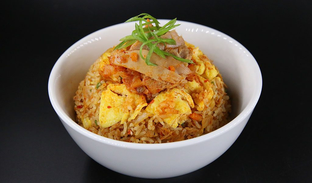 Tuna Kimchi and Fried Rice