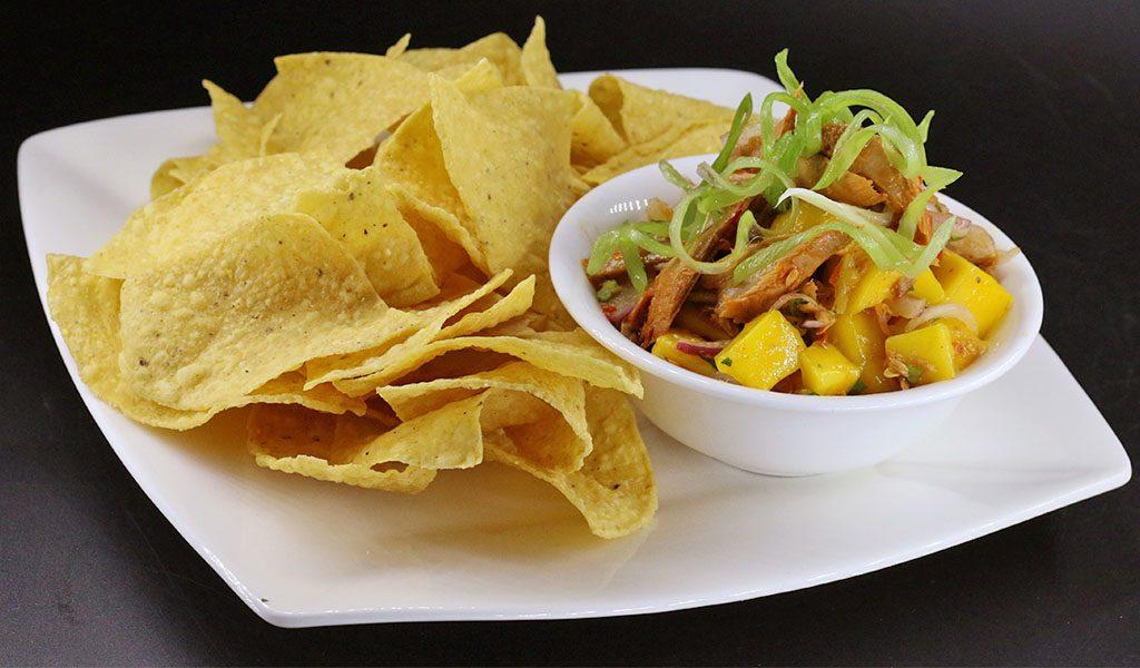 Tuna Mango and Corn Salsa