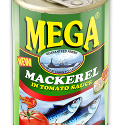 Mega Mackerel in Tomato Sauce 155g
