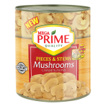 Mega Prime Pieces and Stems Mushrooms 2840g