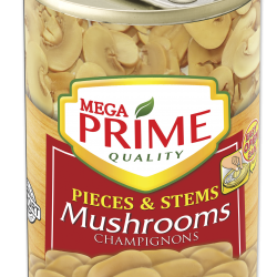 Mega Prime Pieces and Stems Mushrooms 425g