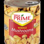 Mega Prime Whole Mushroom 850g
