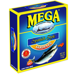 Mega Sardines Spanish Style in Pouch 110g