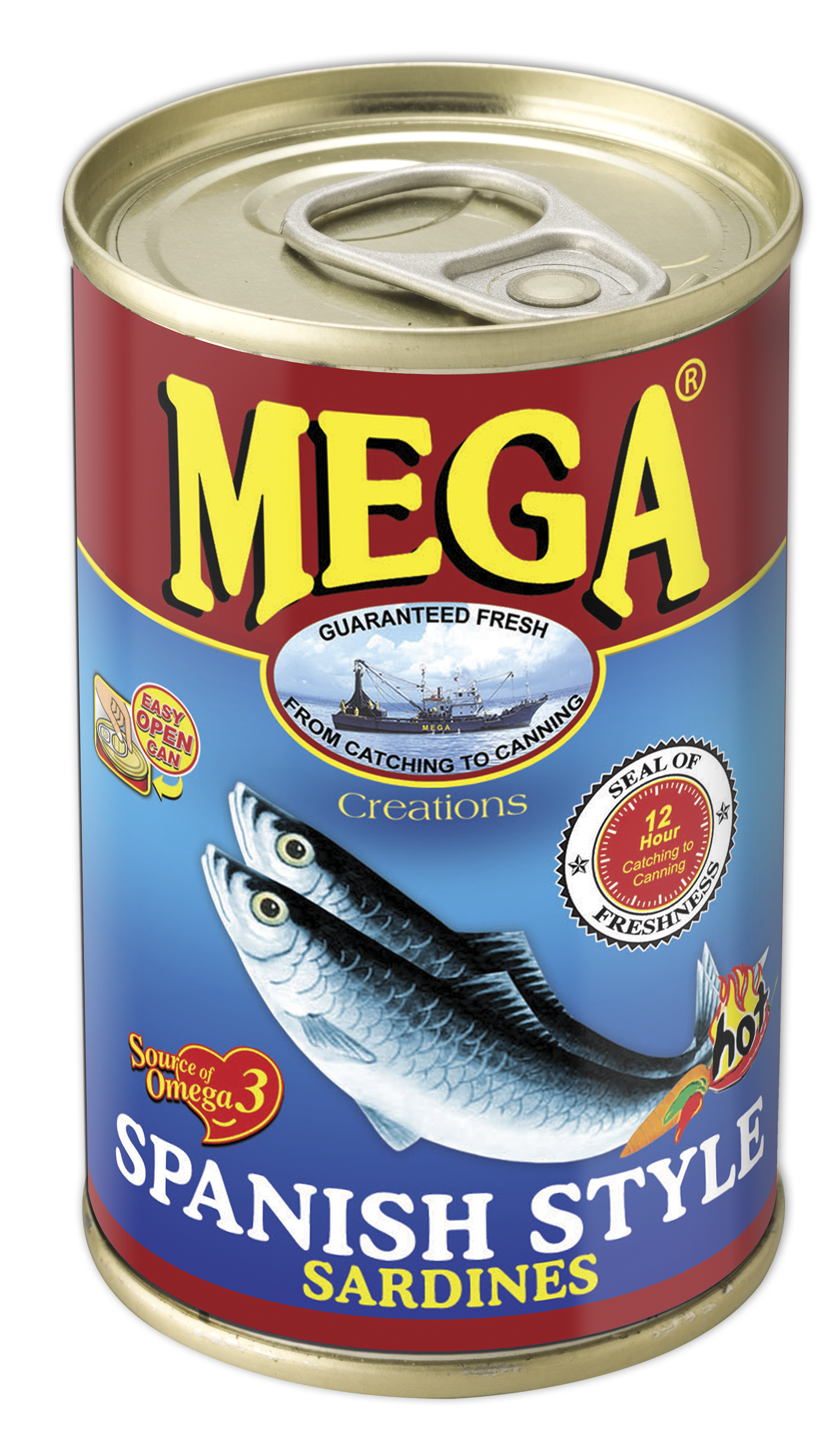 Mega Sardines in Spanish Style 155g