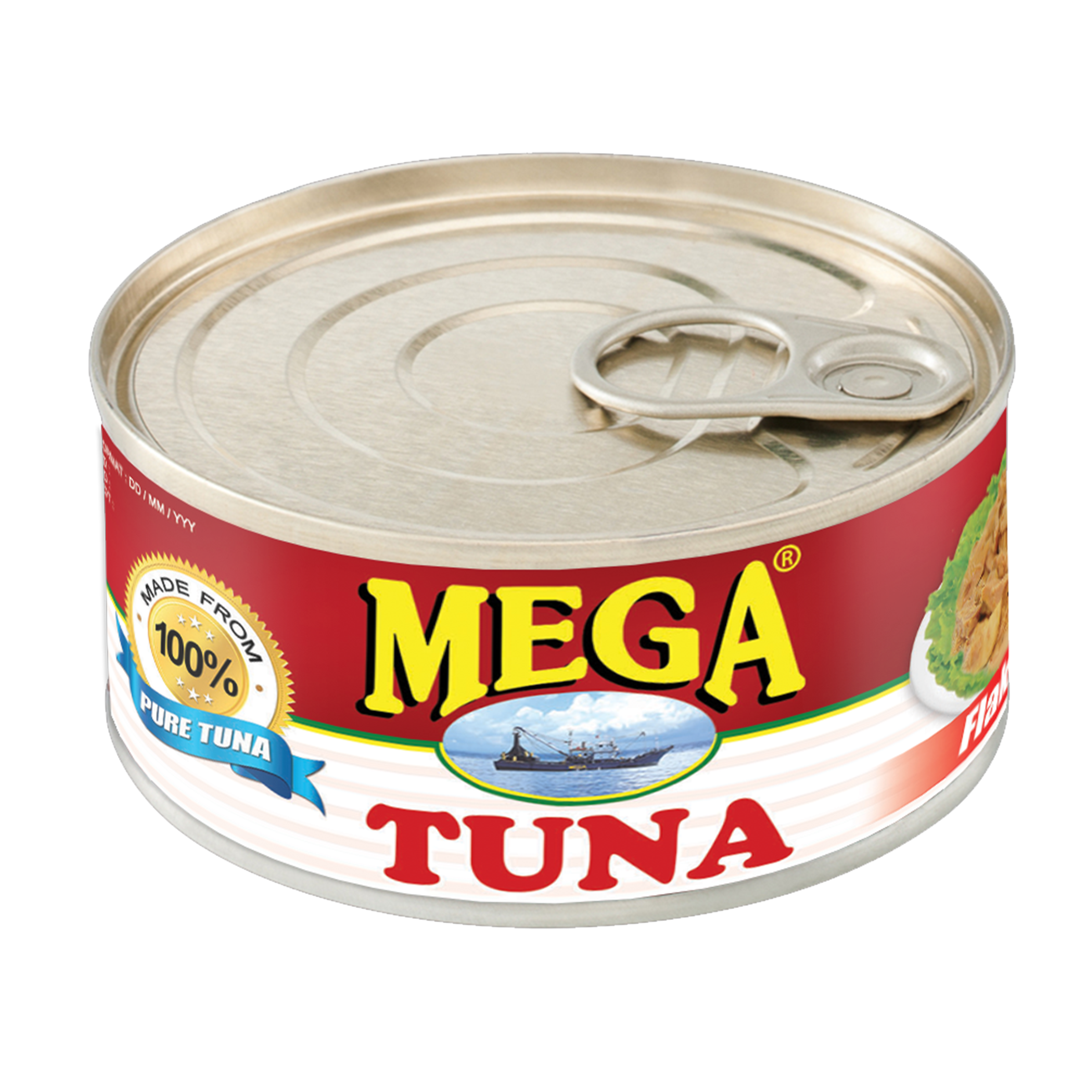 Mega Tuna Hot and Spicy 180g
