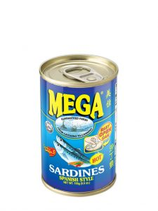Sardine with a Spanish-Style Flavor