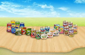 Breakfast, Lunch, Dinners Using Canned Food
