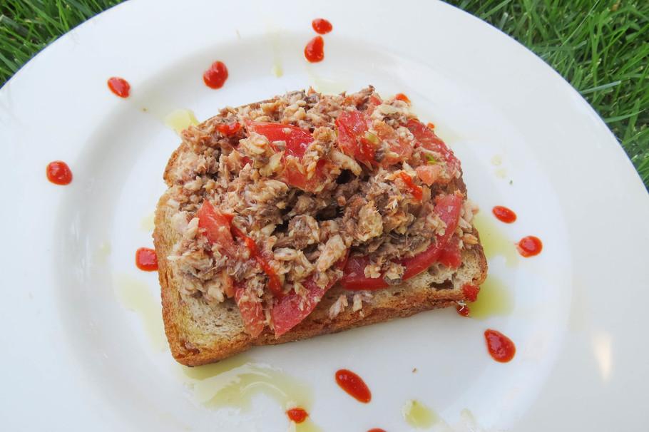 Sardine on Toast