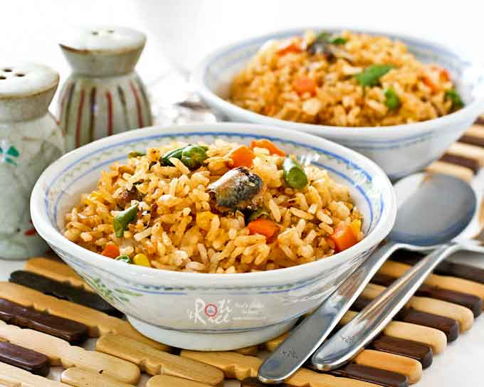 Spicy Sardine Rice