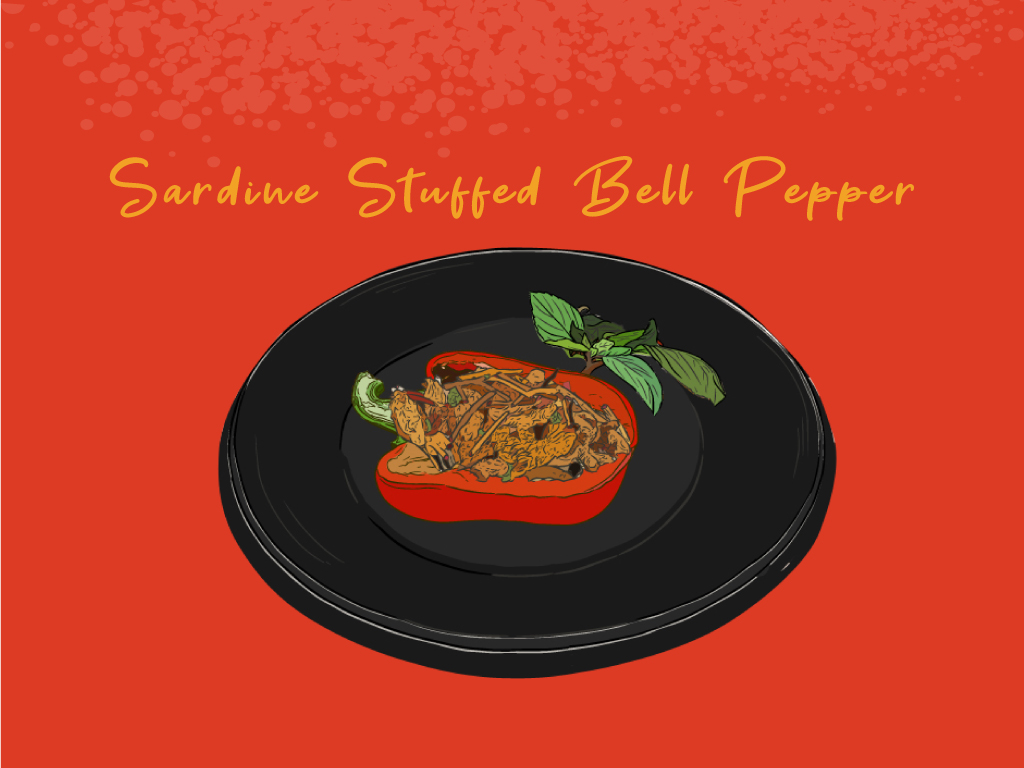Sardine-Stuffed-Bell-Pepper