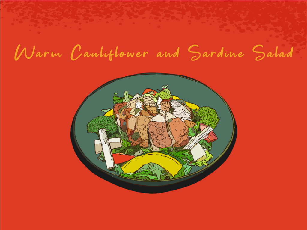 Warm-Cauliflower-and-Sardine-Salad